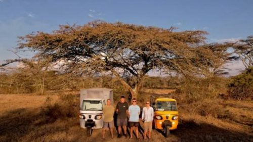 From Kenya to Cape Town with Tuk Tuks for Rangers